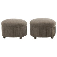 Pair of Early 20th Century French Stools