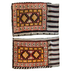 Pair of Early 20th Century Gabbeh Grain Bag Rugs