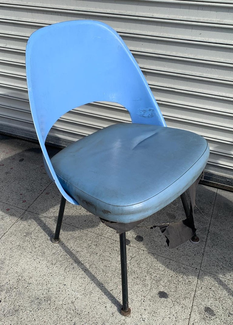 Pair of Early Eero Saarinen, Chairs, Model 72 P*PSB For Sale 5