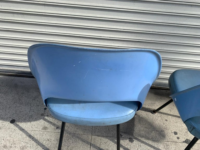 Pair of Early Eero Saarinen, Chairs, Model 72 P*PSB For Sale 10