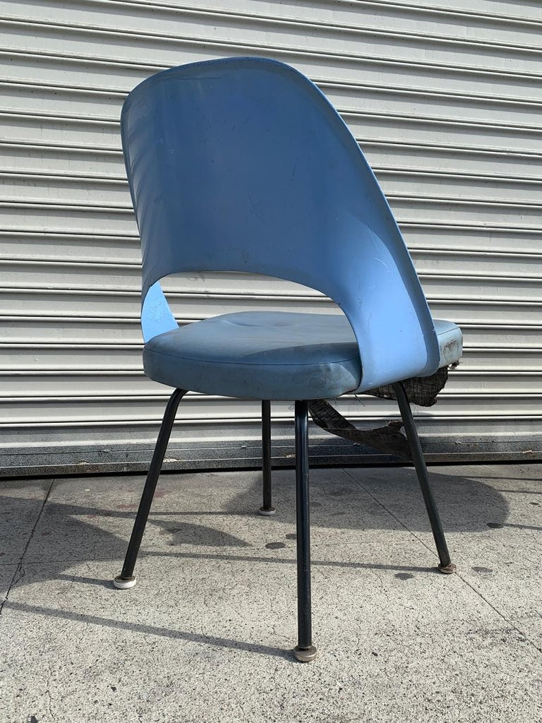 Pair of Early Eero Saarinen, Chairs, Model 72 P*PSB For Sale 12