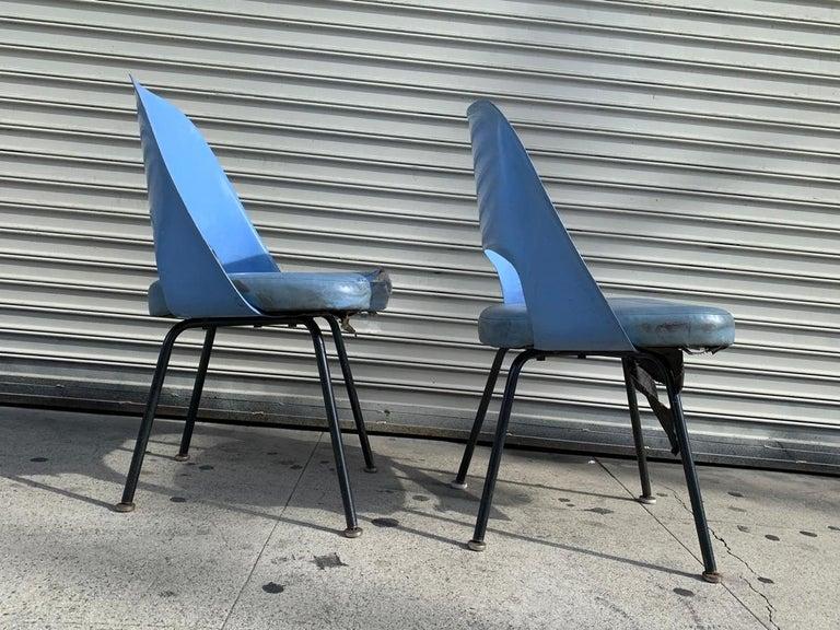 American Pair of Early Eero Saarinen, Chairs, Model 72 P*PSB For Sale