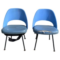 Pair of Early Eero Saarinen, Chairs, Model 72 P*PSB