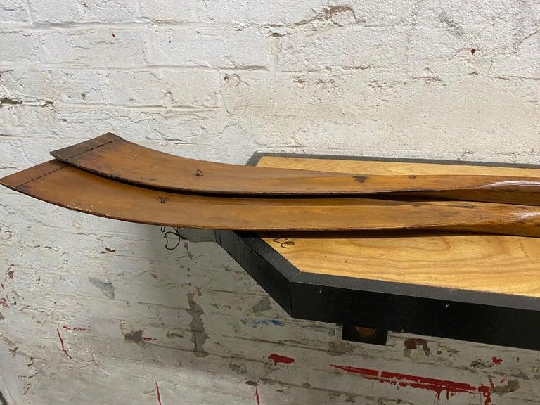 Pair of Early Handmade Crew Oars by NY Boat Oar Company For Sale 5