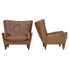 Pair of Easy Chairs by Illum Wikkelsø