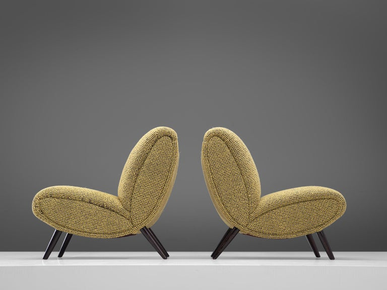 American Pair of Easy Chairs by Norman Bel Geddes