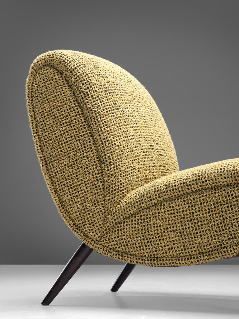 Mid-20th Century Pair of Easy Chairs by Norman Bel Geddes