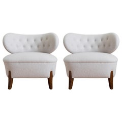Pair of Easy Chairs by Otto Schulz