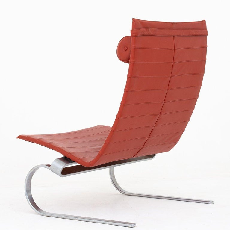 Scandinavian Modern Pair of Easy Chairs by Poul Kjærholm For Sale