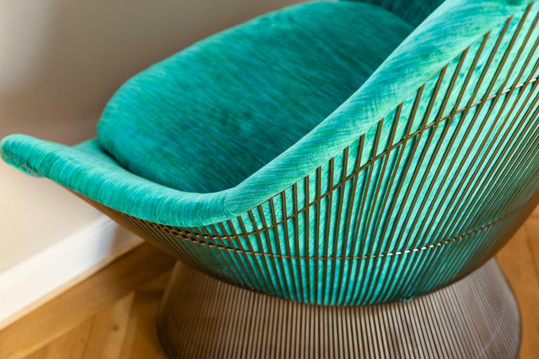 Pair of Easy Chairs by Warren Platner for Knoll, circa 1970 For Sale 2