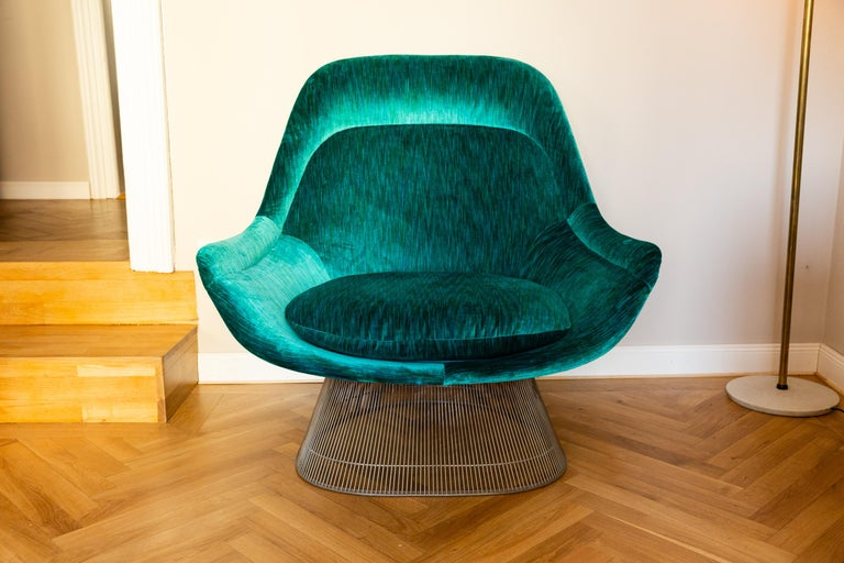 American Pair of Easy Chairs by Warren Platner for Knoll, circa 1970 For Sale