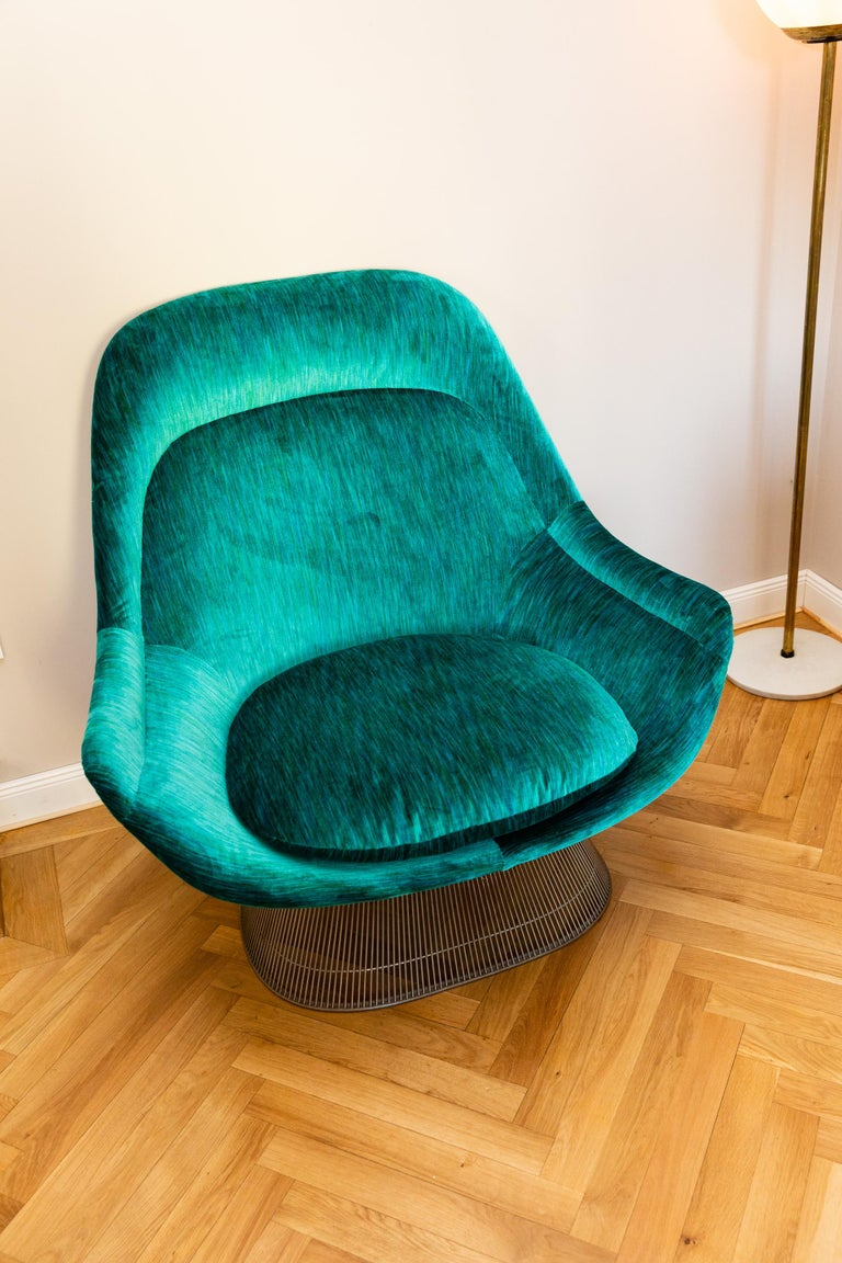 Pair of Easy Chairs by Warren Platner for Knoll, circa 1970 In Good Condition For Sale In Munich, DE