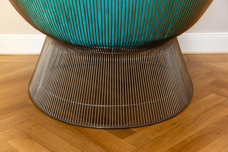 Pair of Easy Chairs by Warren Platner for Knoll, circa 1970 For Sale 1