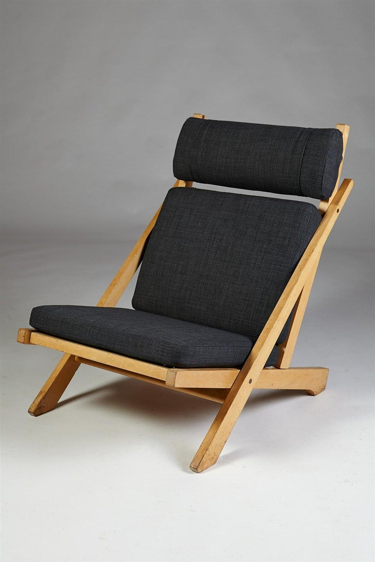 Scandinavian Modern Pair of Easy Chairs