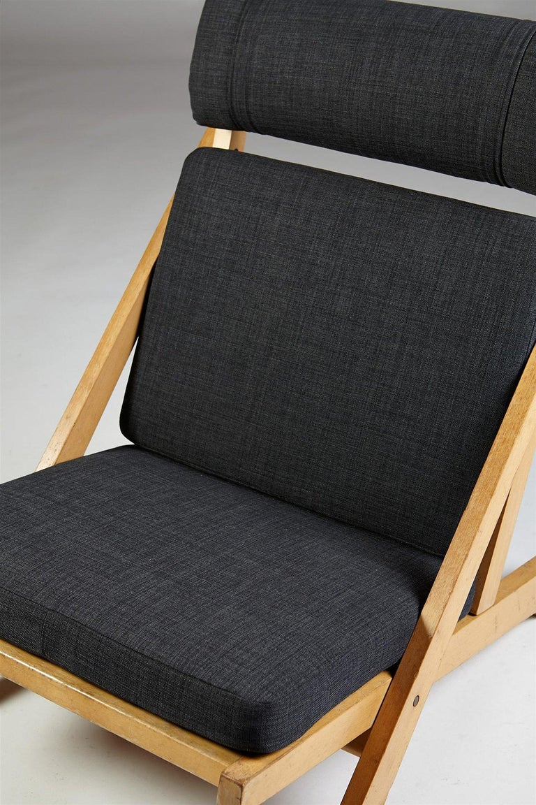 Mid-20th Century Pair of Easy Chairs