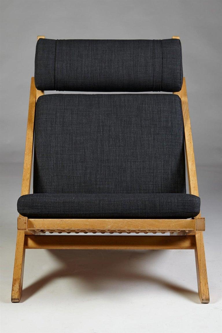 Wool Pair of Easy Chairs