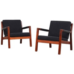 Pair of Easy Lounge Chairs by Carl Gustaf Hiort Af Örnas, Finland
