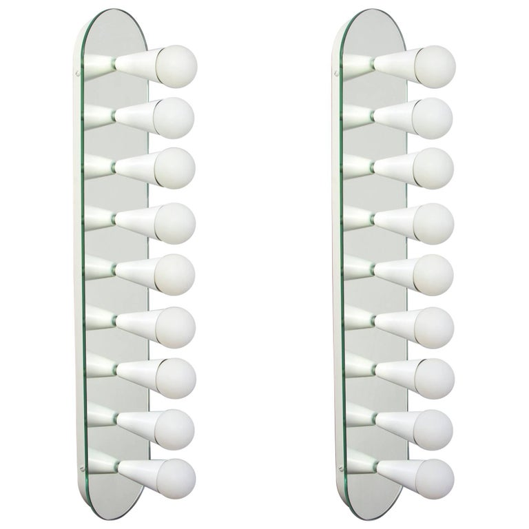 Pair of Echo Nine Sconces in White, from Souda, Made to Order For Sale