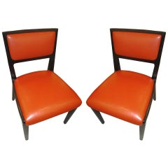 Pair of Ed Wormley Chairs