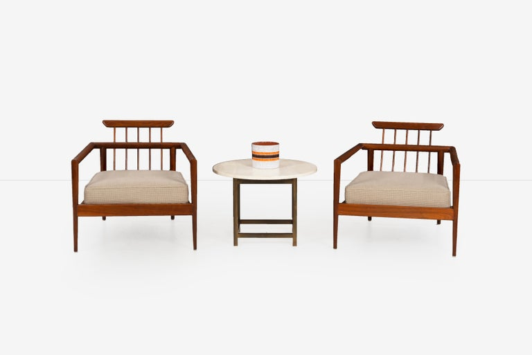Pair of Edmond Spence Lounge Chairs 2