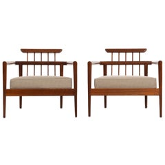 Pair of Edmond Spence Lounge Chairs