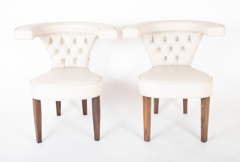 American Pair of Edward Wormley for Dunbar Armchairs For Sale