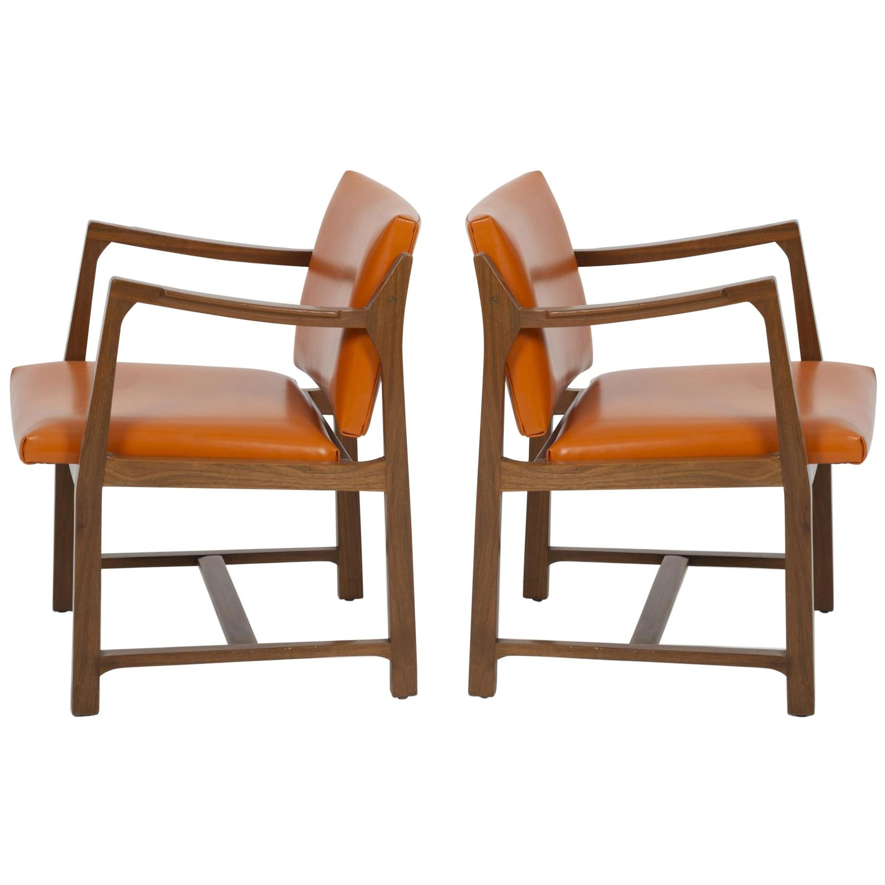 Pair of Edward Wormley for Dunbar Occasional Chairs