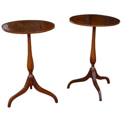 Pair of Edwardian Mahogany Side Tables