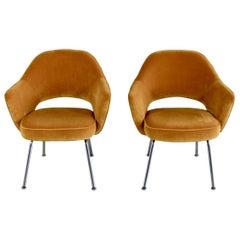Pair of Eero Saarinen Conference Chairs, Knoll International
