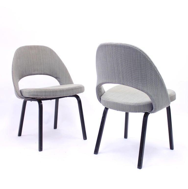 Pair of Eero Saarinen Executive Chairs by Knoll / Nordiska Kompaniet, 1960s For Sale 3