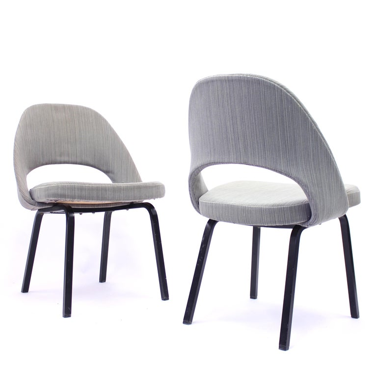 Pair of Eero Saarinen Executive Chairs by Knoll / Nordiska Kompaniet, 1960s For Sale 4