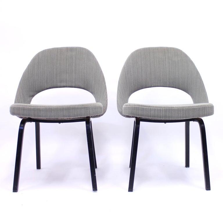 Swedish Pair of Eero Saarinen Executive Chairs by Knoll / Nordiska Kompaniet, 1960s For Sale
