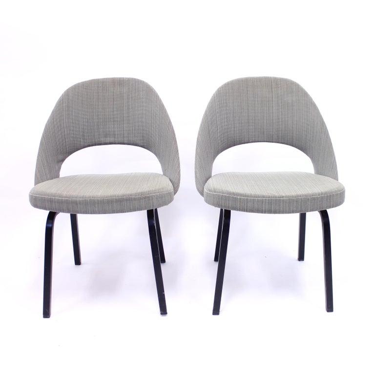 20th Century Pair of Eero Saarinen Executive Chairs by Knoll / Nordiska Kompaniet, 1960s For Sale