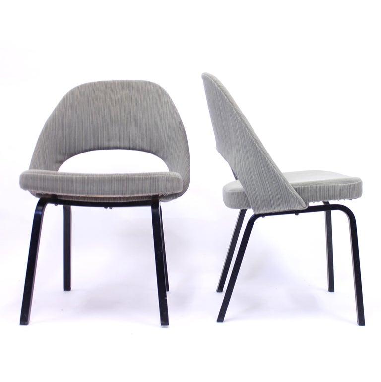 Pair of Eero Saarinen Executive Chairs by Knoll / Nordiska Kompaniet, 1960s For Sale 1