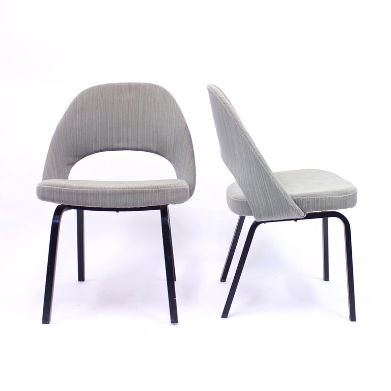 Pair of Eero Saarinen Executive Chairs by Knoll / Nordiska Kompaniet, 1960s For Sale 2
