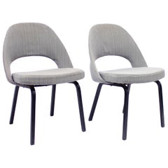 Pair of Eero Saarinen Executive Chairs by Knoll / Nordiska Kompaniet, 1960s