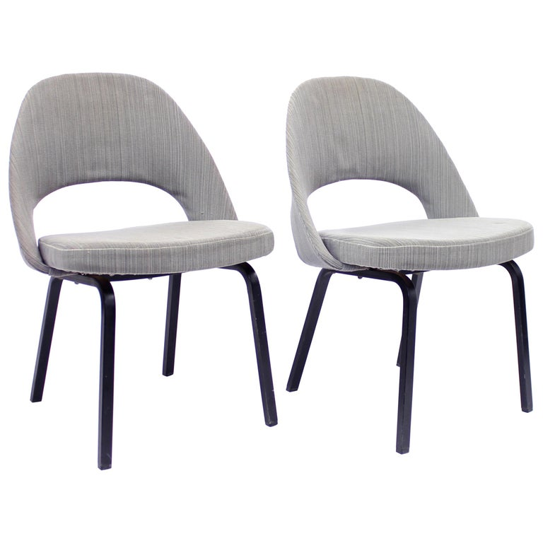 Pair of Eero Saarinen Executive Chairs by Knoll / Nordiska Kompaniet, 1960s For Sale