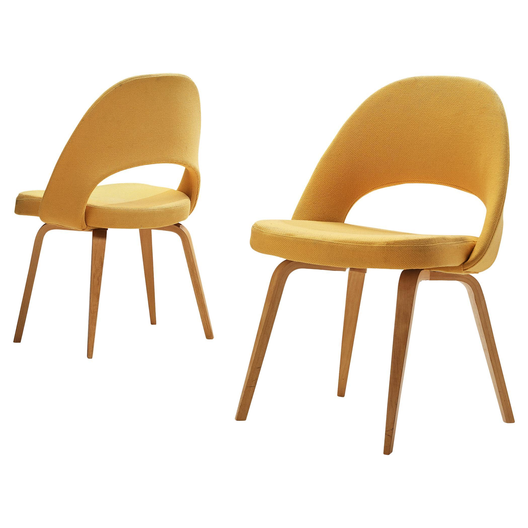 Pair of Eero Saarinen for Knoll International Dining Chairs