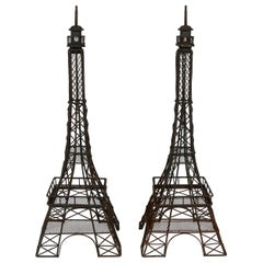 Pair of Eiffel Towers