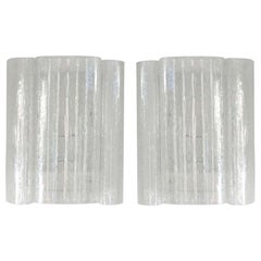 Pair of Eisglas Wall Sconces by Doria Leuchten