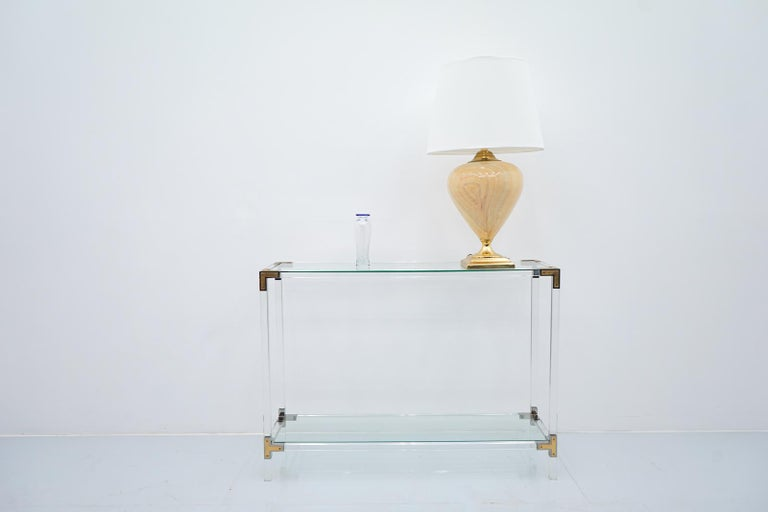 Pair of Elegant Table Lamps by Maison Le Dauphin, France, 1970s For Sale 2
