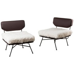 Pair of Elettra Armchairs by B.B.P.R.