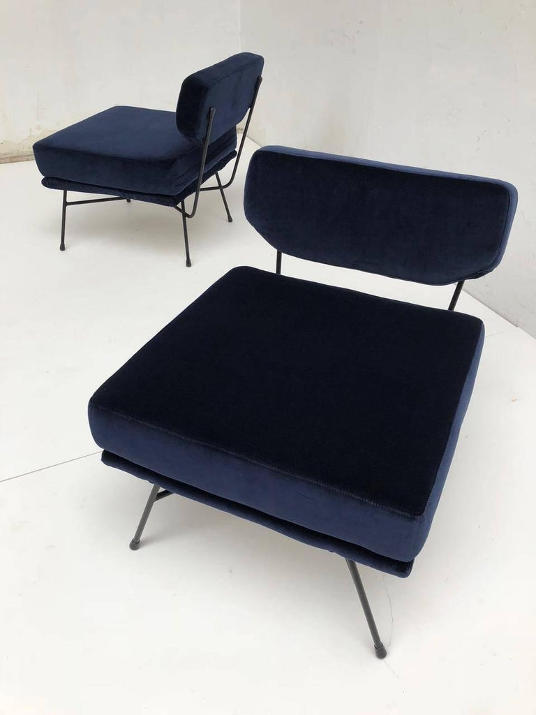 Pair of 'Elettra' Lounge Chairs by BBPR , Arflex,Italy 1953, Compasso D'Oro 1954 For Sale 4