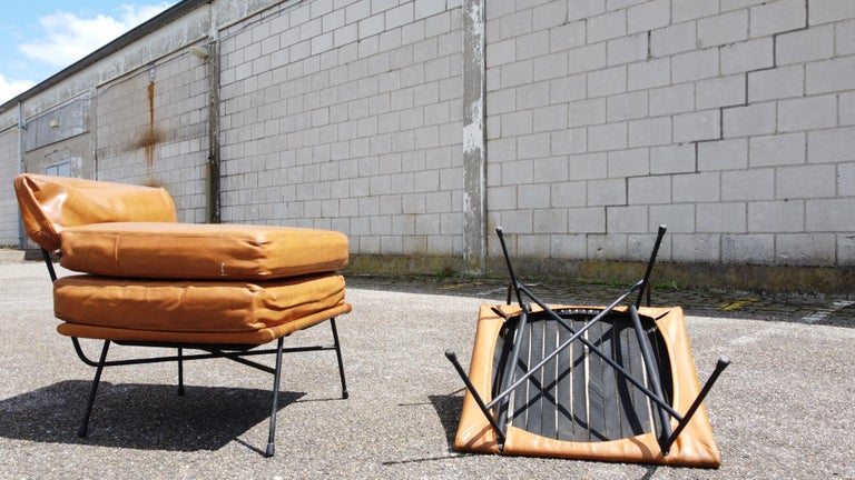 Pair of 'Elettra' Lounge Chairs by BBPR, Arflex, Italy 1953, Compasso D'Oro 1954 For Sale 7