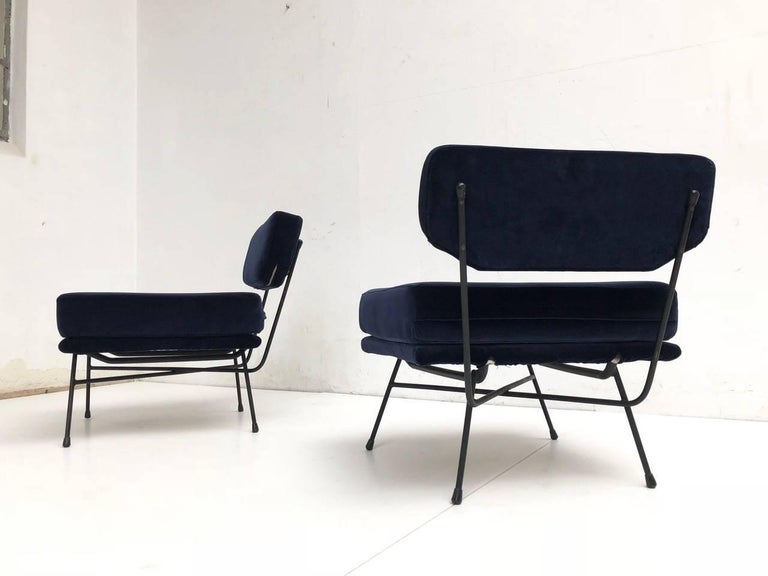 Pair of 'Elettra' Lounge Chairs by BBPR , Arflex,Italy 1953, Compasso D'Oro 1954 For Sale 3