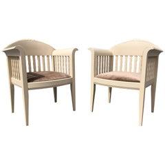 Pair of Eliel Saarinen Chairs