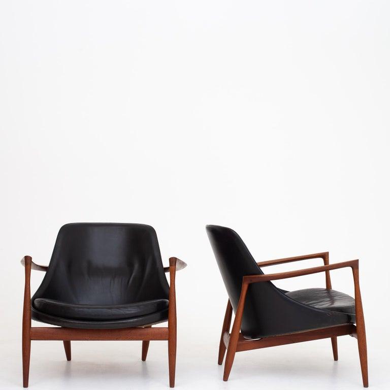 Pair of Elizabeth Chairs by Ib Kofod Larsen 1