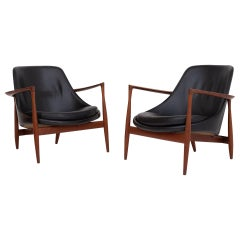 Pair of Elizabeth Chairs by Ib Kofod Larsen