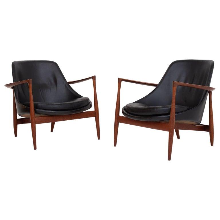 Pair of Elizabeth Chairs by Ib Kofod Larsen