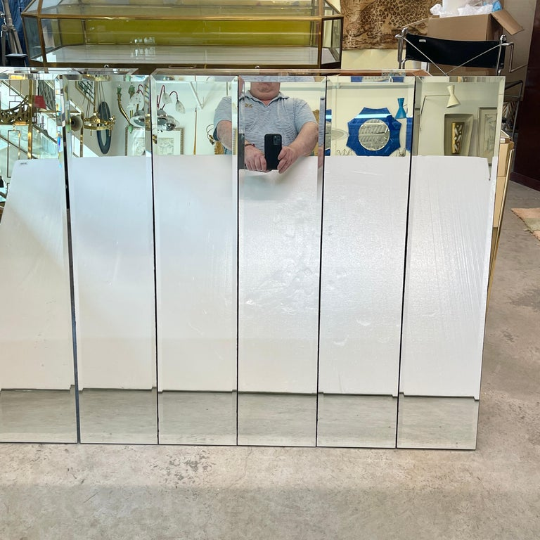 Pair of Ello Beveled Wall Mirrors For Sale 11